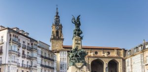 Vitoria city centre