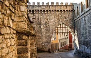 Vitoria city walls