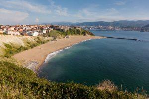 Beach in Bilbao (Getxo)
